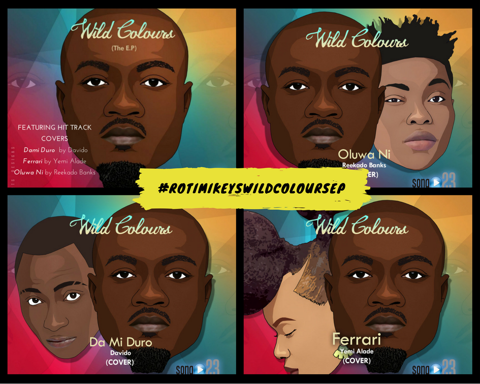 Wild Colours EP Covers by RotimiKeys